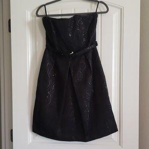 Target Limited Ed Black Belted Cocktail Dress